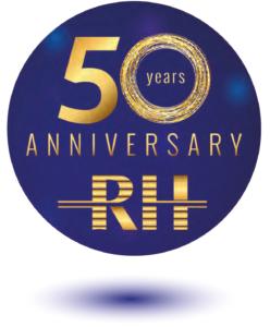 50 years anniversary RH